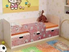 Детская кровать Китти
