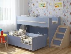 Кровать Легенда-23.4 розовая/голубая/др. цвета