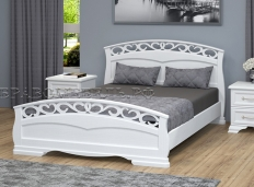 Кровать из массива Грация 1