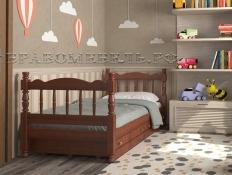 Кровать  Аленка (массив)