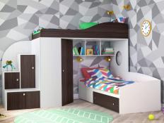 Двухъярусная кровать Кадет-2