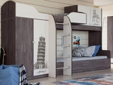 Двухъярусная кровать Омега-18 №2 СКИДКА!