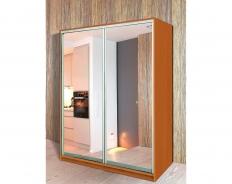 Шкаф-купе 2-створчатый зеркальный Версаль
