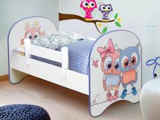 Кровать с фотопечатью Совята