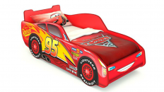 Кровать-машина «Маквин» (Красная)